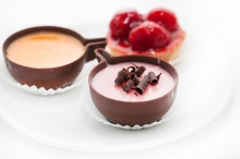 Mini chocolate tartlets